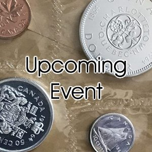 upcoming event- coin show