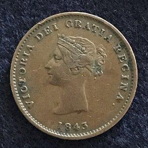 New Brunswick 1843 Penny