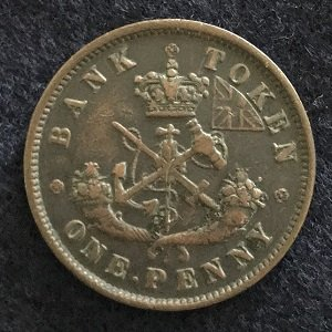 Bank of Upper Canada token