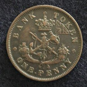Bank of Upper Canada token