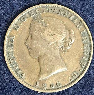 Nova Scotia half penny 1856