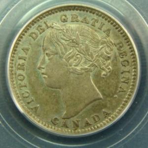 1894 10 cent Obverse