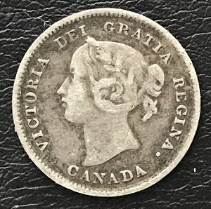 1896 five cents silver
