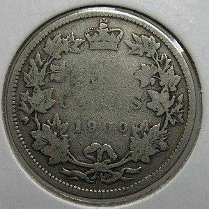 1900 25c Canada