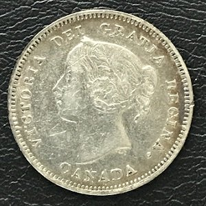 oval '0' 5 cents canada