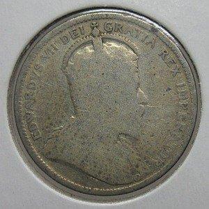 1903 Canada quarter silver