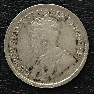 5 cents canada 1918