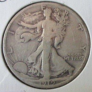 US 1919 half dollar