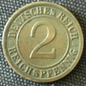 1925 reichspfennig