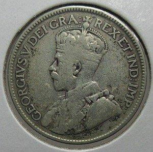 1929 quarter Canada