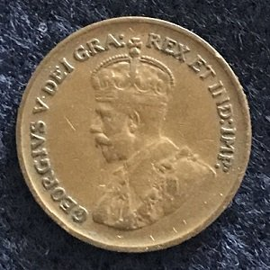 Canadian 1 cent 1932