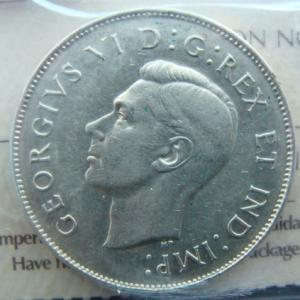 1946 50 cents Canada hoof in 6