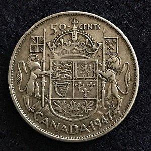 1947 Canada 50 Cent