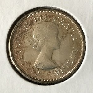Canada 25 cents UNC