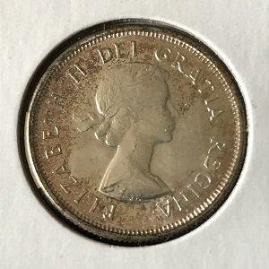 Canada 25 cents UNC