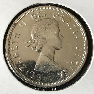 1964 silver dollar canadian