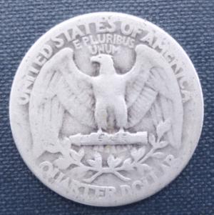 1938 quarter USA