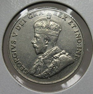 1931 canada 5 cents