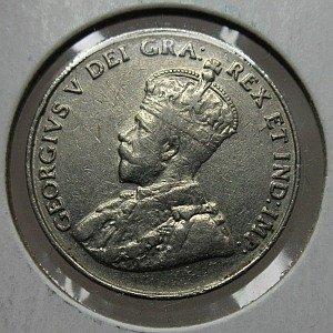 1935 nickel Canada