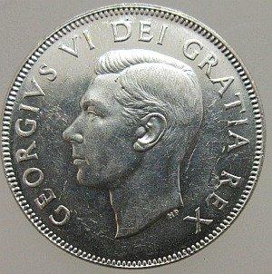1952 50 cent Canada