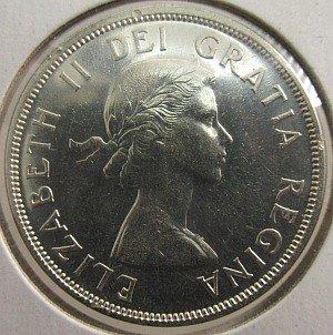 """1958 silver dollar """"death dollar"""""""