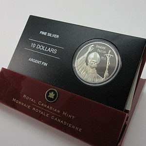 2005 $10 Pope Paul Coin