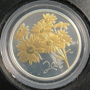 2006 fifty cent golden daisy Canada