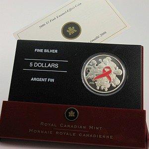 2006 Pink Ribbon Coin Canada