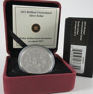 2012 Cased Dollar Canada