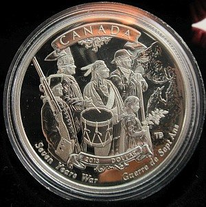 99.99% Silver Canadian 2013 Coin