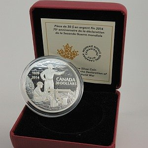 2014 $30 Royal Canadian Mint