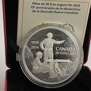Canadian $30 silver