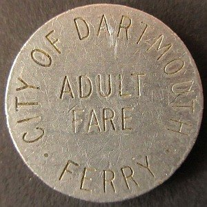 Nova Scotia Dartmouth Ferry Token