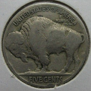 1925 nickel USA Indian Buffalo